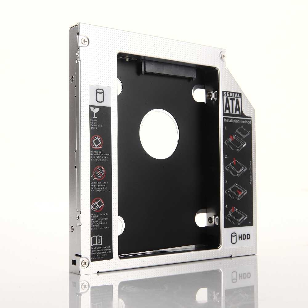 12.7mm 2nd HDD SSD Quang Vịnh Caddy Khung Adapter cho Laptop Lenovo ThinkPad E520 E530 E435 E535 E430 e420 E425