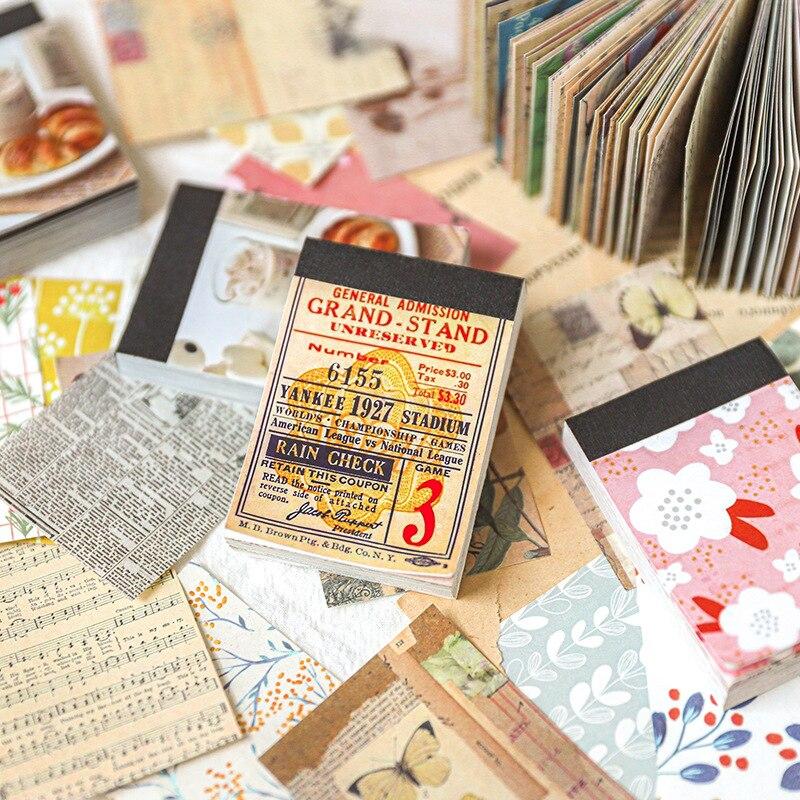 100 листов, наклейки для дневника в саду, улице, путешествий