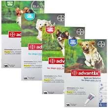 Bayer K9 Advantix Flea, Tick and Mosquito Prevention For Dog