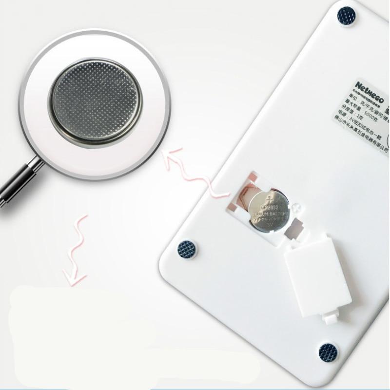 Купить с кэшбэком 5000g/1g Portable Mini Electronic Digital Scales Pocket Kitchen Jewelry Weight Food Weighing Pocket Jewelry Scales