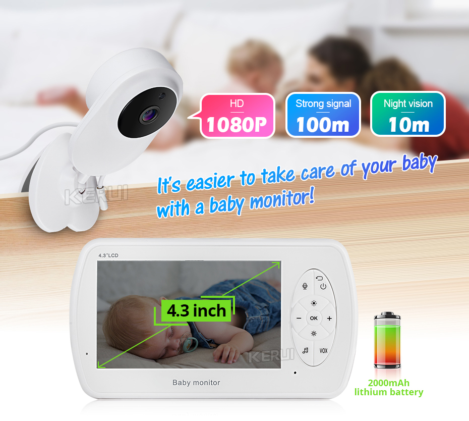 Video Nanny Baby Monitor With Camera