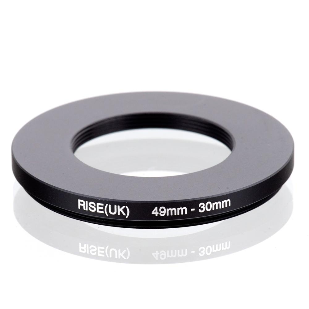 RISE(UK) 49mm-30mm 49-30 Mm 49 To 30 Step Down Filter Ring Adapter