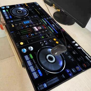 XGZ Cool DJ Hand Drive duża podkładka pod mysz do gier Gamer zabezpieczona krawędź podkładka pod mysz do klawiatury podkładka pod mysz do gier dla CS GO LOL Dota Game tanie i dobre opinie RUBBER Other(Other) Zdjęcie 30X60 30X70 40X80 40X90CM Home Office Outdoor Mouse pad table mat carpet mat Precision weaving cloth