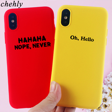 Trendy Phone Case for IPhone 6s 7 8 11 Plus Pro X XS Max XR Fashion words Cases Soft Silicone Fitted TPU Back Accessories Covers