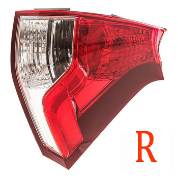 Right Rear Tail Light Brake Lamp 12V for Honda CRV CR-V 2012 2013 2014 Red transparent Tail Light replace directly