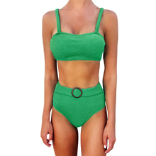 2020 New Bikini Summer Beach Sexy Knitted Swimsuit Ladies Split Two-Piece Suits