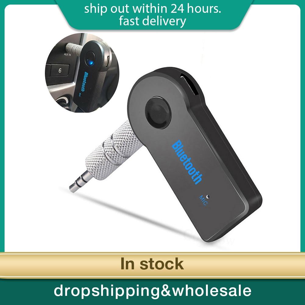 Senza fili di Bluetooth Ricevitore Auto-4.0 Adattatore 3.5 millimetri Martinetti Audio Trasmettitore Vivavoce Phone Call AUX Musica Ricevitore per la TV di Casa MP3