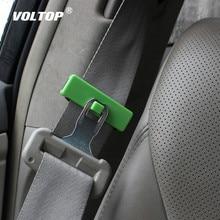 Car Hook Accessories Seat Belt Buckle Auto Fastener Clip Interior Tension Adjuster Button