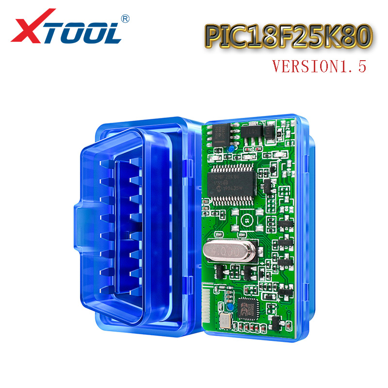 XTOOL <font><b>ELM327</b></font> <font><b>pic18f25k80</b></font> Bluetooth v1.5 super mini ulme 327 OBD2 Für Android Drehmoment code leser auto scanner tool auto diagnose image