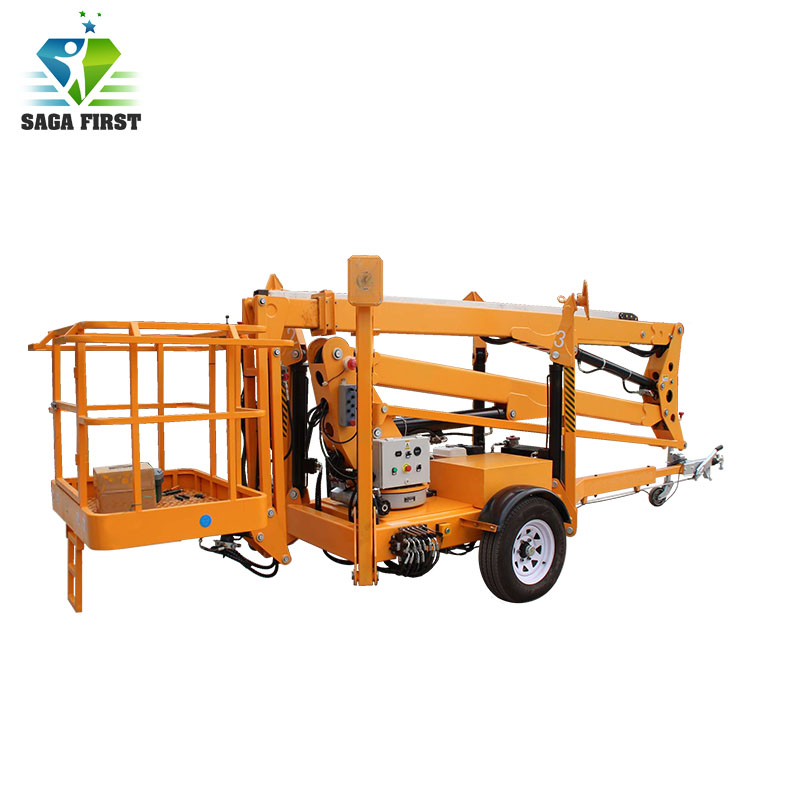 High End Electric Articulated Boom Lift