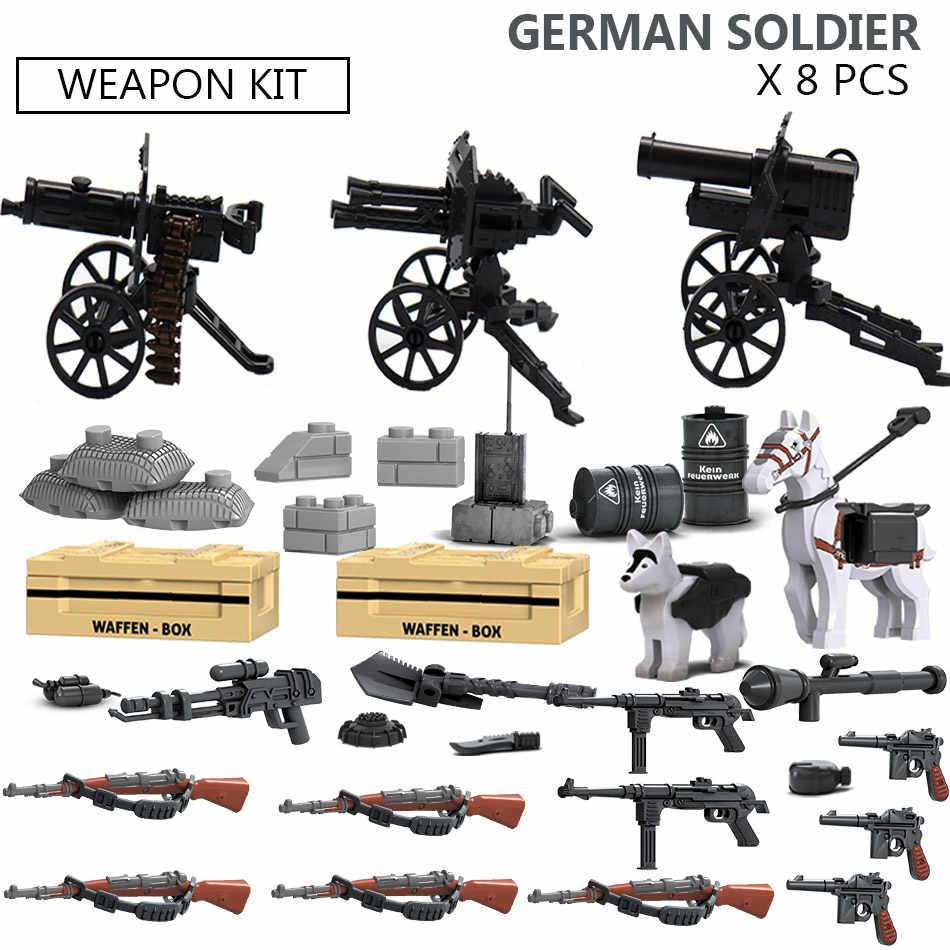 Военная специальная сила солдат набор оружия армейские фигурки кирпичи совместимые legoed WW2 Танк грузовой автотранспорт строительные блоки детские игрушки