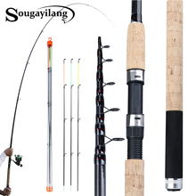 Sougayilang Draagbare 3.0 3.6M Feeder Hengel L M H Power Spinning Casting Verse Water Reizen Staaf De pesca Karper Feeder Pole