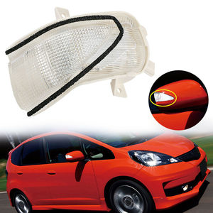 FIT For JAZZ 2009 2010 2011 2012 2013 Car Rearview Side Mirror Turn Signal Indicator Light Repeater For Honda Insight(China)