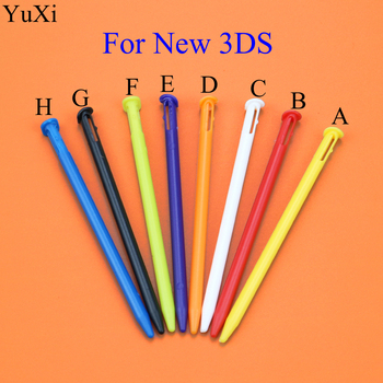 YuXi Multi-Color Plastic & Metal Touch Stylus Pen Replacement For Nintend New 3DS Game Console image