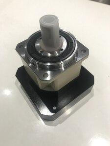 Image 1 - 5 caixa de engrenagens do redutor planetário da engrenagem helicoidal da elevada precisão de acrmin 1 fase para o eixo de entrada do servo motor da c.a. do quadro de 110mm 19mm