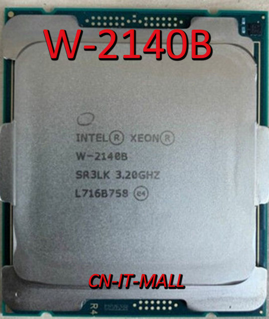 Gezogen Xeon W 2140B CPU 3,2 GHz 8 Core 16 Themen LGA2066 Prozessor