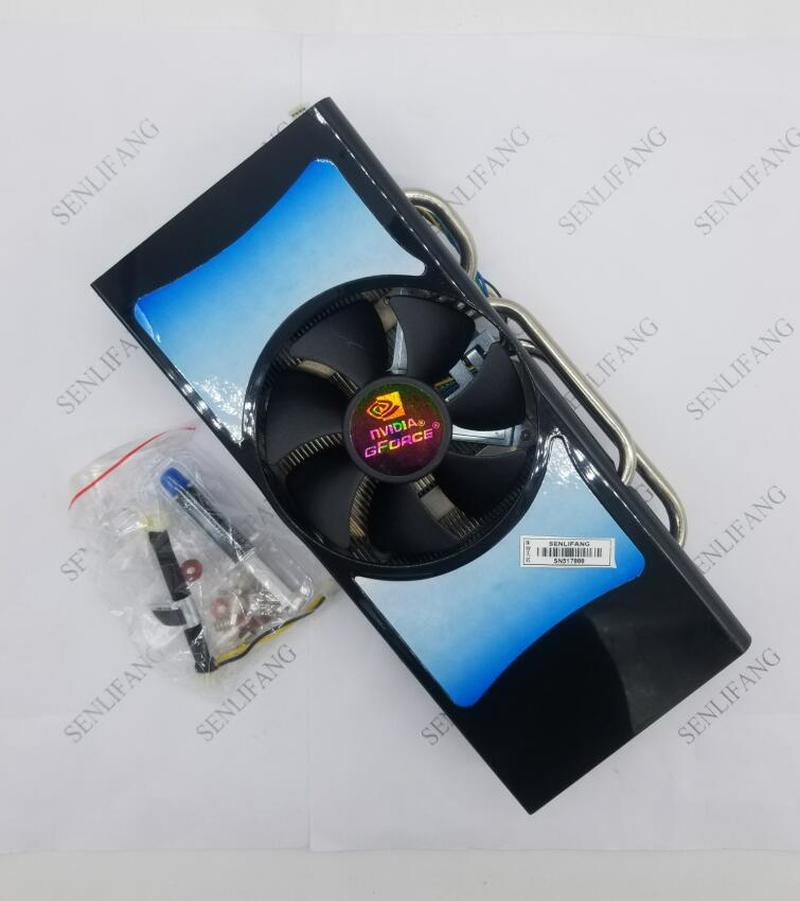 Free Shipping GTX950/750Ti/750/650/550 HD7870/7850 R9 270 Universal Graphics Card Cooler Processor Cooler Heatsink