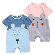 baby clothes infant boy rompers new born vests baby girl clothes toddler tops newborn jumpsuits baby rompers Cute animal shapes cheap COTTON cartoon O-Neck Pullover Unisex Short 190302 Fits smaller than usual Please check this store s sizing info 100 Cotton