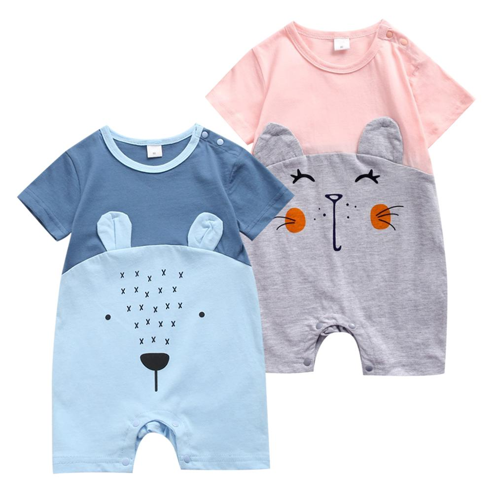 Baby Clothes Infant Boy Rompers New Born Vests Baby Girl Clothes Toddler Tops Newborn Jumpsuits Baby Rompers Cute Animal Shapes