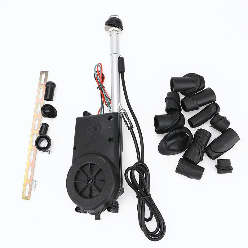 1 Kit de remplacement d'antenne de puissance de mât de Radio d'am FM de voiture pour Mercedes benz W140 W126 W124 W201 accessoires automatiques d'antennes électriques