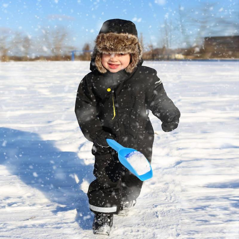 Hot Sale Outdoor Winter Kids Snow Sand Scoop Shovel Toy Plastic Play Snow Random Color Children Fighting Tools Supplies