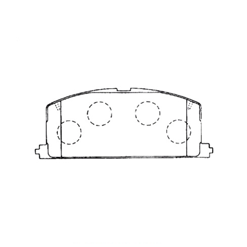 AKEBONO pads brake disc front FIT FOR TOYOTA CARINA T21, COROLLA (E10, E11) AN-309K