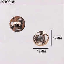 ZOTOONE Metal 12MM Snap Buttons 50PCS Handmade Cute Noel Accessories Scrapbooking for Coat DIY Craft Decoration Button E