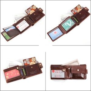 Image 2 - Cobbler legend Genuine Leather Wallet Men Bifold Business Vintage  2020 New Coin Pocket Designer Brand High Quality Short Purses