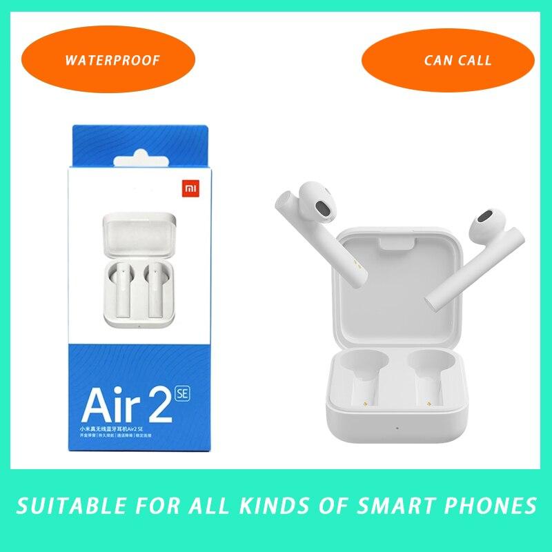 Новинка 2021 оригинальный Redmi AirDots 2 плавно переключается между одним ухом и бинауральным режимом AIR 2 SE Bluetooth 5,0 Xiaomi AIR 2SE