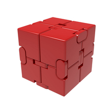 antistress Infinite Cube Stress Relief Toy  Premium Metal Infinity Cube Portable Decompresses Relax Toys for Children Adults