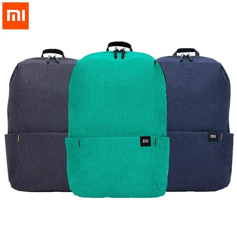 Original Xiaomi Mi Backpack 10L Bag 10 Colors 165g Urban Leisure Sports Chest Pack Bags Men Women Small Size Shoulder Unise