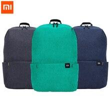 حقيبة ظهر أصلية من شاومي Mi 10L 10 ألوان 165 جم حقيبة ظهر مريحة للرياضات الحضرية حقيبة كتف صغيرة للرجال والنساء