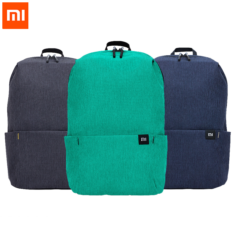 Original Xiaomi Mi Backpack 10L Bag 8 Colors 165g Urban Leisure Sports Chest Pack Bags Men Women Small Size Shoulder Unise