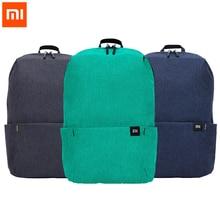 Оригинальный рюкзак Xiaomi Mi, объем 10 л, модель 165g, Городской Спортивный нагрудной рюкзак для отдыха, сумки для мужчин и женщин, маленький размер, однотонный