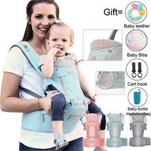 Baby Carriers Ergonomics Baby Carrier Wrap Stool Safety Anti-slip Baby Backpack Hip seat Breathable Multifunction Wrap Sling