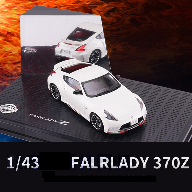Sale Original 1:43 Nissan FALRLADY 370Z Sports Car Alloy Model,simulation Die-casting Car Model,exquisite Gifts,free Shipping