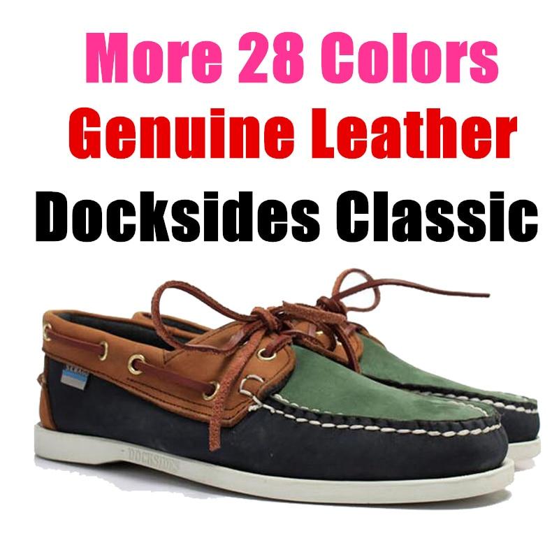 Chaussure Nautique Homme Femme Docksides De Nubuck Leather Casual Boat Shoes Loafers Flats For Men Women X101