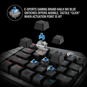 Image 2 - GameSir Z1 Game Keyboard Mechanical Keypad with Programmable Keys for Android Mobile Phone / Windows PC