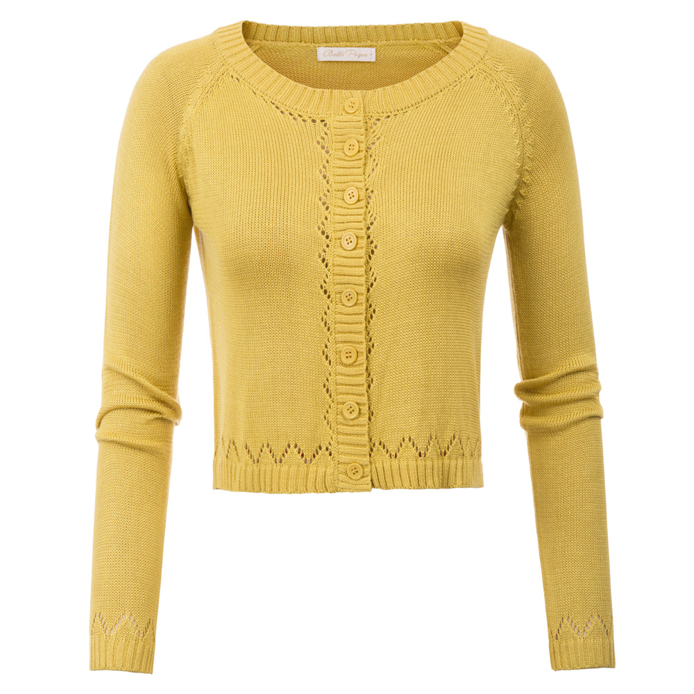 Vintage Womens Round Collar Long Sleeve Full Length Coat Cardigan Windbreaker US