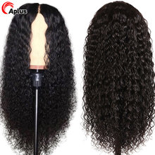28 30 inch Water Wave Wig 180 Density 13x6 Transparent Lace Front Human Hair