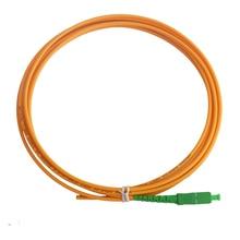 Fiber-Optic-Patch Pigtail Singlemode SC/APC 3-Meters Simplex 3mm 10pcs/Lot PVC Cord