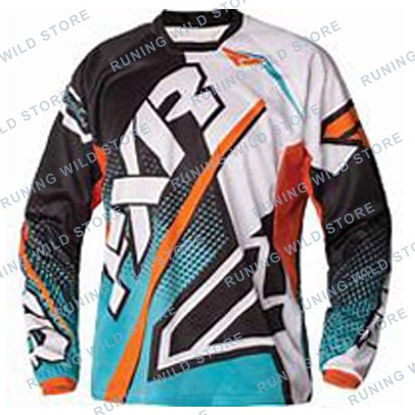 2020 DH Motocross MX FXR Manica Lunga MTB Jersey Cruz país Moto en Sella una cuesta abajo Mtb Jersey Motocrosselectric de la motocicleta