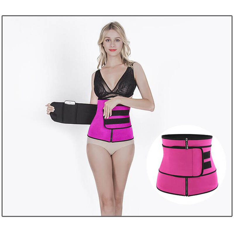 Inadice Women Cummerbunds Neoprene Comfortable Wide Belt Solid Corset Belt Women Elastic Belt Fashion Waist Trainer Trimmer Belt