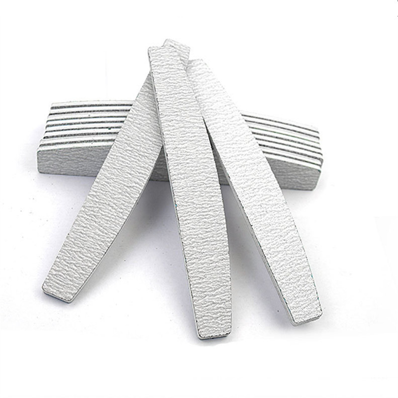 1/5pcs Professional Nail File Sanding Buffer Block 100/180 UV Gel Polish Salon Nails Accessoires Supplier Lime A Ongle Grey Boat