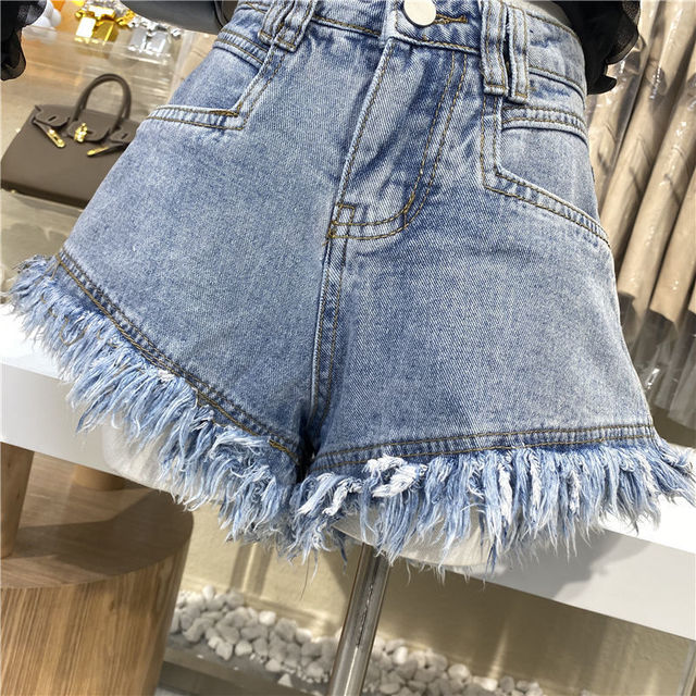Hot sale summer woman denim shorts high waist ripped jeans shorts fashion sexy female shorts S-2XL drop shipping new 4