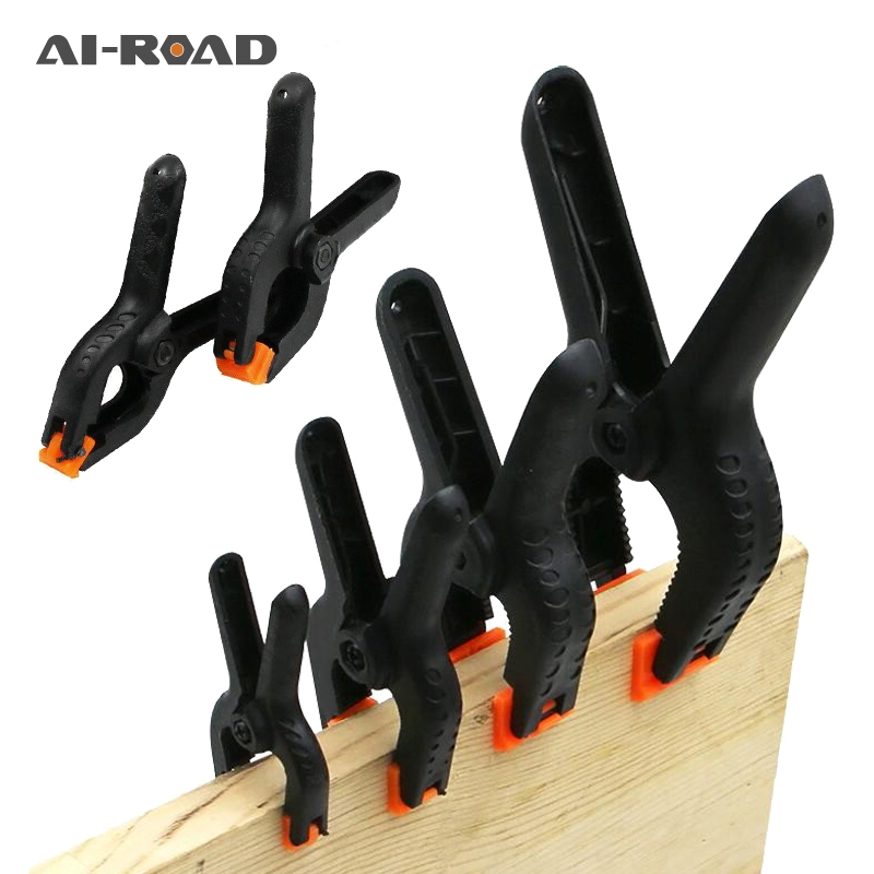 20Pcs Woodworking Spring Clamp A-shape Plastic Wood Clips Hardware Woodworking Tools 2Inch/3Inch/3.5Inch/4Inch/6Inch
