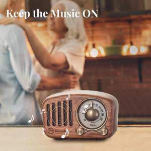 Image 3 - PRUNUS J 919 Klassische retro radio empfänger tragbare mini Holz FM SD MP3 Radio stereo Bluetooth Lautsprecher AUX USB Aufladbare