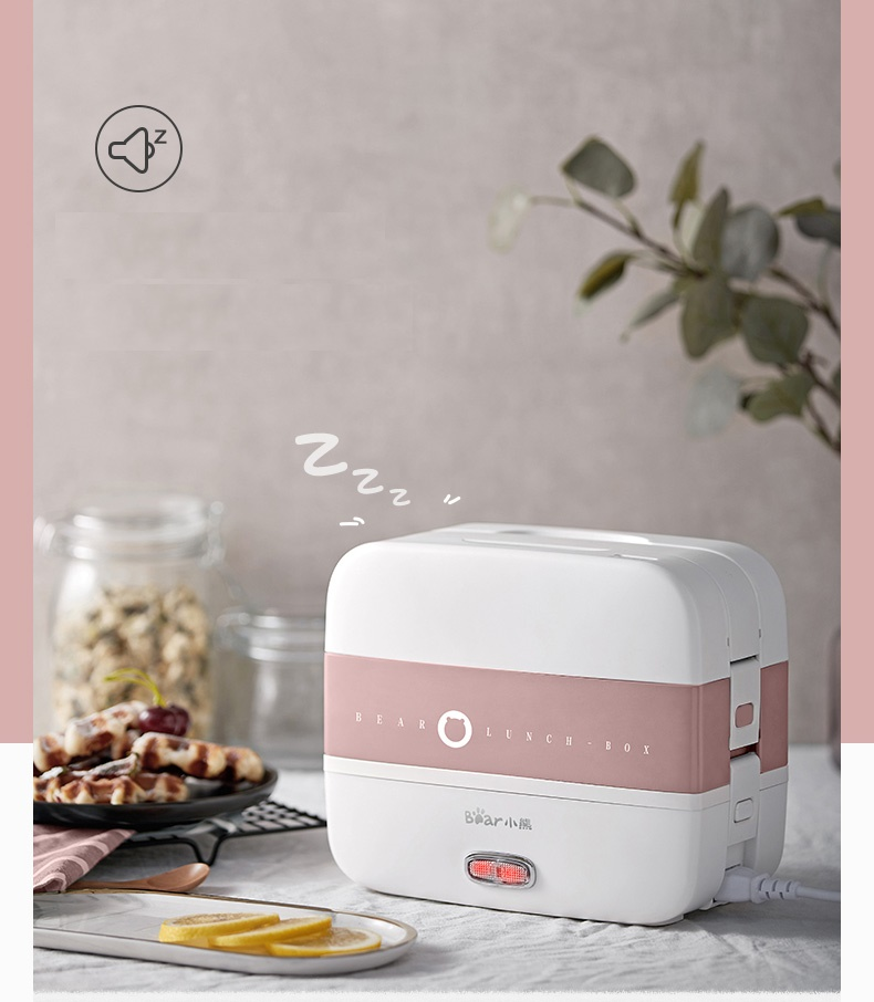 220-240V Electric Lunch Heating Box Portable Electric Multi Rice Cooker 2 Layers With 4 Liners EU/AU/UK/US Plug Available