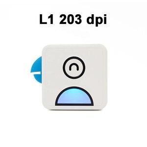 Image 2 - Poooli L1 L2 kuş cep cep taşınabilir Mini 300 Dpi fotoğraf yazıcısı öğrenci yanlış konu sıralama baskı resim listesi afiş