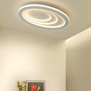 Image 4 - Plafonnier led à haute luminosité, design moderne, éclairage dintérieur, luminaire de plafond, montage en surface, idéal pour un salon, une chambre détude ou un bureau